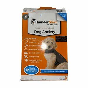 New Open Box Thunderworks Thundershirt Medium Dog Anxiety Fireworks Thunderstorm