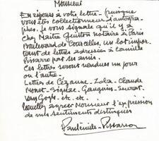 Paul-Émile PISSARRO / Van Gogh / Monet / Cézanne / Gauguin et son père