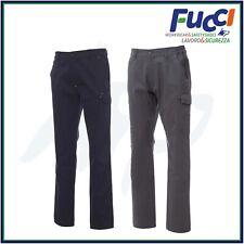 Pantaloni da Lavoro Uomo Donna Invernali Estivi Payper Power Blu 100% Cotone