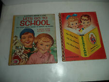 Antique Children's Books, Lot Of 2 1954 & 1956 VG Condition