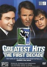 THE FOOTY SHOW GREATEST HITS - THE FIRST DECADE  DVD