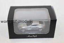 FrontiArt HO 05 Aston Martin One 77 Silber  1:87 H0 NEU in OVP limitiert