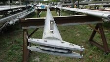 30 foot 4 inch Aluminum Sailboat Mast with Spreaders & Mast winch, rigging