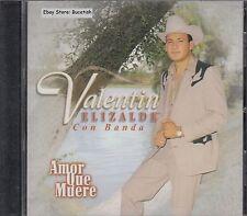 Valentin Elizalde Con Banda Amor Que Muere CD New Nuevo Sealed