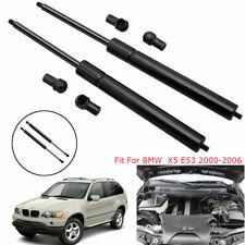 Vehicle Gas Lift Support Hood Struts Shock Front Bonnet For BMW X5 E53 2000-2006