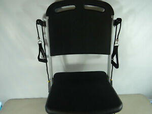Resistance Chair VQ Action Care Fitness & Exercise Chair, Folding, Rolling