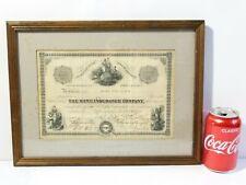 More details for 1929 home insurance company new york shares certificate marie pearce glenn