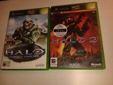 Original Xbox Game * HALO 1 + 2 GAMES BUNDLE *