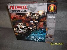 RISK 2210 A.D. BOARD GAME box not sealed but bags and cards are opened never use