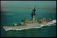 Uss Gray Ff-1054 postcard Us Navy Ship Knox Class Fast Frigate