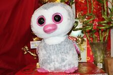 """Ty Beanie Boos Olive The Penguin.Jumbo.16"""".Cl aire'S Exc.2016/17.Mwnmt.Nice Gift"""