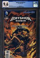 CGC 9.6 2012 Batman And Robin #8 First Print New 52 DC Comics
