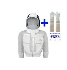 Safta Bee 3 Thick Layers Ventilated Beekeeping Jacket With Fencing Veil
