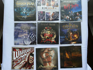 Hard Rock / AOR PROMO CD Collection 9 titles15 x Discs Warrant / DGM / Treat etc