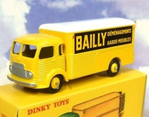 ATLAS FRENCH DINKY TOYS SIMCA CARGO TRUCK BAILLY DEMENAGEMENTS REMOVALS VAN 33AN