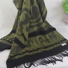 Sale New Womens Mans Jacquard 4-ply Cashmere Wool Soft Warm Wrap Shawl Scarf 137