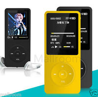 MP3 MP4 Player Video e-Book FM Recorder Lossless Sound Musik Spieler Radio 8GB