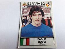 Album Panini ESPANA 82 WORLD CUP Figurina 50 PAOLO ROSSI ITALIA rec