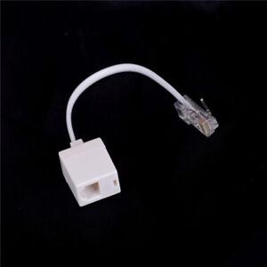 RJ11 6P4C Femelle À Ethernet RJ45 8P8C Mâle F /M Adaptateur Convertisseur Câb_jy