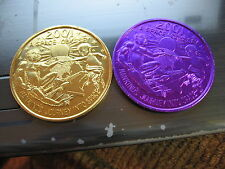 qty 4 space odyssey 2001 alien et ship new orleans mardi gras doubloon coin sale