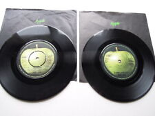 TWO RINGO STARR 45's ' IT DON'T COME EASY & SNOOKEROO ' EX +