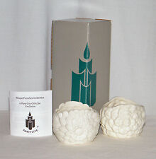 New - Set of 2 May Flowers P7134 - Tealight Candle Holders by PartyLite Gifts