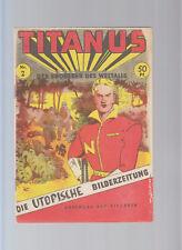 Titanus nº 2 original 1954 Science ficción