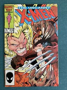 The Uncanny X-Men #213 (Jan 1987, Marvel) Wolverine vs. Sabletooth coming to MCU