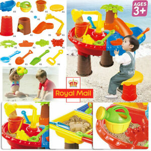 Toddler Kids Sand and Water Table Childrens Outdoor Garden Sandpit Play Set Toys