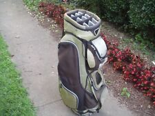 The Great Divide Eclipse qbs Cart Golf Bag Good but Worn