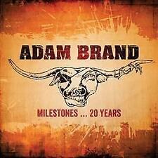 Adam Brand - Milestones...20 Years (CD DOUBLE SLIMLINE CASE)