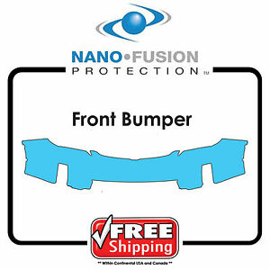Cut For Audi - Avery Nano Fusion Protection Film - Front Bumper Only