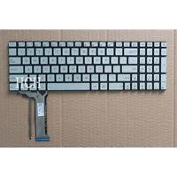 For ASUS GL552 GL552J GL552JX GL552V GL552VL GL552VX US backlit keyboard Silver