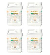 Herbicide Désherbant Total Glyphosate 4 x 5L Tous jardins RADIKAL 24h
