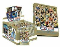 2020 AFL TEAMCOACH TEAM COACH FOOTY TRADING CARDS  SEALED BOX + 2 ALBUM FOLDER