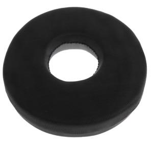 Memory Foam Donut Tailbone Pillow Hemorrhoid Cushion Sponge Donut Seat Black