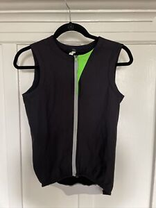 Q36.5 Men's Cycling VEST INSULATED WOOLF BOMBARDINO Black Small