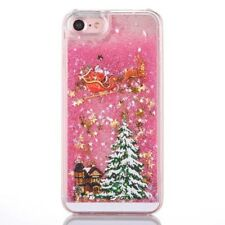 Dynamic Quicksand Christmas Hard PC Phone Case Cover F iPhone 6 7 8 Samsung s7 8
