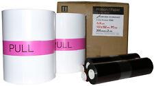 """Shinko / Sinfonia CS2 4x6"""" Print Kit , 2 rolls of paper & ribbon per box"""