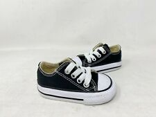 New! Converse Toddler Unisex Classic Ox Lace Up Sneakers Black #Tj235 153C tk