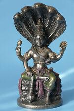 gott,vishnu,indisch,13x6,5cm,gott der sonne,figur,skulptur,bronziert,hinduismus