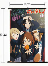 Hot Japan Anime K-ON! Cute Yui Mio Home Decor Poster Wall Scroll 21*30CM A+A+