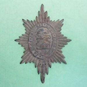 The Worcestershire Regiment (Relic) British Army/Military Helmet Plate/Badge
