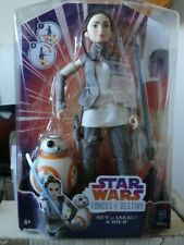 HASBRO/DISNEY Rey Of Jakku & BB-8 'Star Wars Forces Of Destiny' Brand, Shiny New