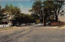 1914 Homes Main Road Cutchogue LI NY post card