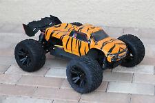 Custom Body Tiger Style for Arrma Kraton 4S 1/10 Truck Car Shell Cover