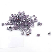 1000pcs Austria Crystal Glass bead 4mm #5301 Bicone beads DIY jewelry make #238