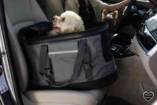 Valentina valentti Lujo Perro Gato Cachorro Mascota Asiento De Coche 3 En 1 Carrier Gris Grandes