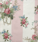 Laura Ashley Fabric ISABELLE ROSE 100% Cotton CHINTZ Vintage Quilting CRAFT PINK