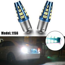 1156 7506 LED Backup Reverse Parking Turn Signal Brake Stop Light Bulbs 48 Chips